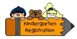 Time for kindergarten registration