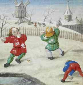 Historic South Norfolk Snowball Fight